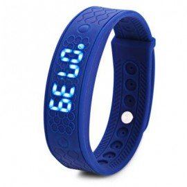 image of H5S HEART RATE MONITOR SMART WRISTWATCH (BLUE) 24.00 x 1.80 x 0.80 cm