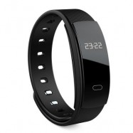 image of QS80 HEART RATE SMART WRISTBAND SLEEP MONITOR CALL REMINDER -