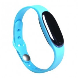image of BLUETOOTH 4.0 SMART WRISTBAND SLEEP MONITOR NOTIFICATIONS REMINDER ANTI-LOST BRACELET (BLUE) 26.30 x 1.80 x 1.00 cm