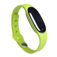 image of BLUETOOTH 4.0 SMART WRISTBAND SLEEP MONITOR NOTIFICATIONS REMINDER ANTI-LOST BRACELET (GREEN) 26.30 x 1.80 x 1.00 cm