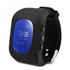 image of Q50 RUSSIAN VERSION CHILDREN SAFETY MONITORING GPS INTELLIGENT WATCH TELEPHONE (BLACK) RUSSIAN VERSION