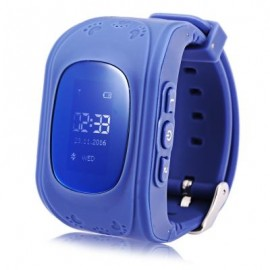 image of Q50 RUSSIAN VERSION CHILDREN SAFETY MONITORING GPS INTELLIGENT WATCH TELEPHONE (DEEP BLUE) RUSSIAN VERSION