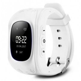image of Q50 CHILDREN OLED DISPLAY GPS INTELLIGENT WATCH TELEPHONE (WHITE) ENGLISH VERSION