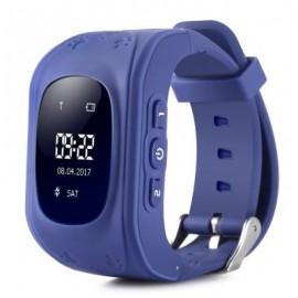 image of Q50 CHILDREN OLED DISPLAY GPS INTELLIGENT WATCH TELEPHONE (DEEP BLUE) ENGLISH VERSION
