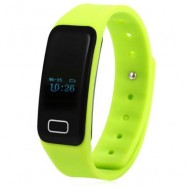 image of X6 HEART RATE MONITOR BLUETOOTH 4.0 SMART WRISTBAND (GREEN) 25.00 x 2.00 x 1.00 cm