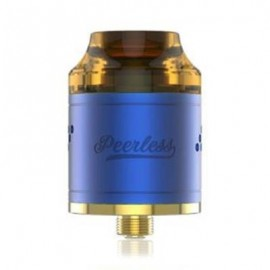 image of ORIGINAL GEEKVAPE PEERLESS RDA WITH SIDE AIRFLOW / DUAL POSTS FOR E CIGARETTE (BLUE)