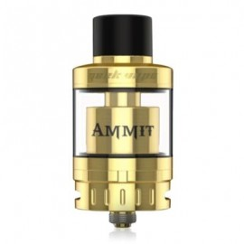 image of GEEKVAPE AMMIT 25 ATOMIZER WITH BOTTOM AIRFLOW / 2ML / 5ML FOR E CIGARETTE (GOLDEN)
