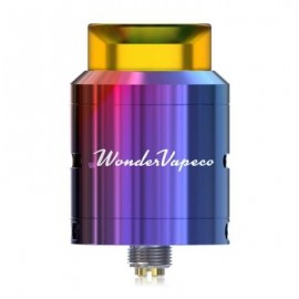 image of ORIGINAL IJOY WONDERVAPE RDA WITH DUAL POSTS DECK / ADJUSTABLE SIDE AIRFLOW FOR E CIGARETTE (COLORFUL)
