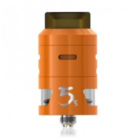 image of IJOY RDTA 5S ATOMIZER WITH 2.6ML / TOP FILLING FOR E CIGARETTE (ORANGE)