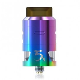 image of IJOY RDTA 5S ATOMIZER WITH 2.6ML / TOP FILLING FOR E CIGARETTE (COLORFUL)