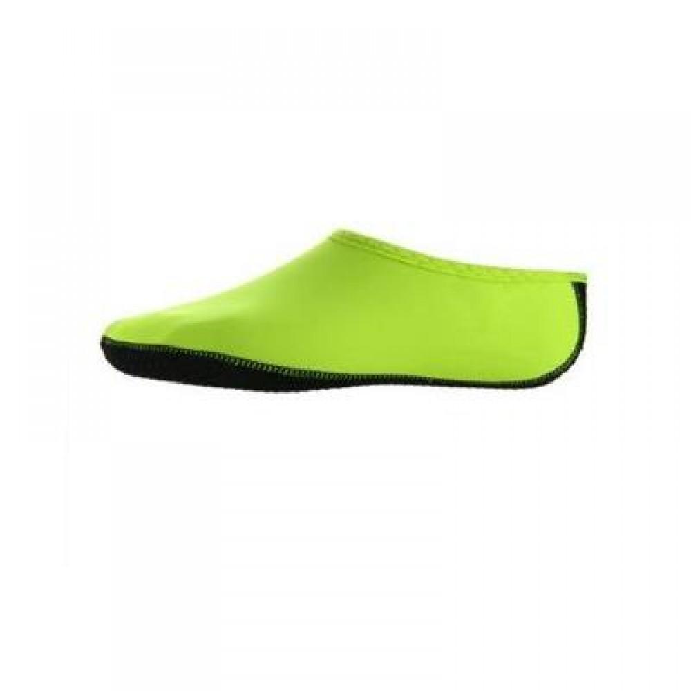 PAIR OF UNISEX ANTI-SLIP SOCKS FOR OUTDOOR BEACH DIVING (GREEN) SIZE(38-39)