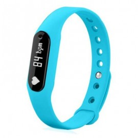 image of B6 BLUETOOTH 4.0 SMART WRISTBAND HEART RATE DETECTION (BLUE) 22.50 x 1.70 x 1.00 cm