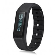 image of X6 SMART WRISTBAND BLUETOOTH 4.0 WATCH FOR SPORTS (BLACK) 24.20 x 1.60 x 0.95 cm