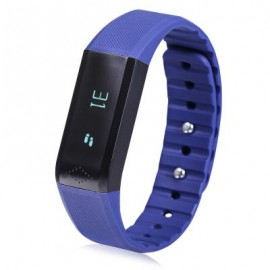 image of X6 SMART WRISTBAND BLUETOOTH 4.0 WATCH FOR SPORTS (BLUE) 24.20 x 1.60 x 0.95 cm