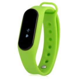 image of ES SMART WATCH WITH HEART RATE MONITOR PEDOMETER ANTI-LOST FUNCTION (GREEN) 22.40 x 1.80 x 1.10 cm