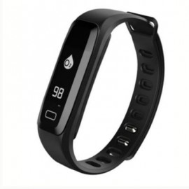 image of G15 BLUETOOTH 4.0 SMART BRACELET HEART RATE MONITOR BLOOD PRESSURE WRISTBAND PEDOMETER ACTIVITIES FITNESS TRACKER (BLACK) 0