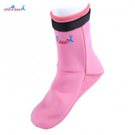 image of DIVE - SAIL DS - 002 DIVING SOCKS DRESS STOCKINGS SNORKELING SUIT (PINK) M