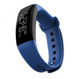 image of M89 SMARTBAND GPS IP67 WATERPROOF HEART RATE MONITOR REMOTE CAMERA FIND PHONE (BLUE) 0