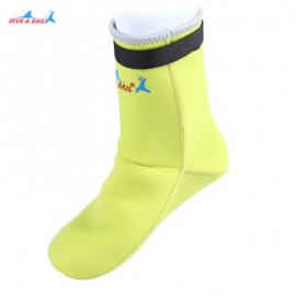 image of DIVE - SAIL DS - 002 DIVING SOCKS DRESS STOCKINGS SNORKELING SUIT (YELLOW) M