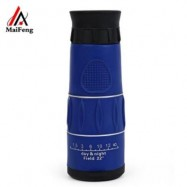 image of MAIFENG 26 X 52 NIGHT-VISION MINI MONOCULAR TELESCOPE (BLUE)