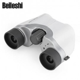image of BEILESHI M6X18 100M / 1000M MINI FOLDING OUTDOOR BINOCULAR (SILVER)