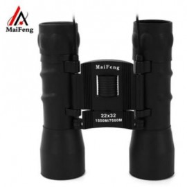 image of MAIFENG CHILDREN 22 X 32 PORTABLE NIGHT-VISION BINOCULAR TELESCOPE (BLACK)