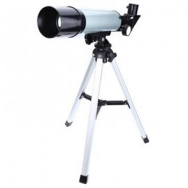 image of F36050M ASTRONOMICAL LANDSCAPE LENS SINGLE-TUBE TELESCOPE FOR BEGINNERS (SILVER)