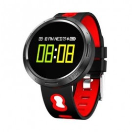 image of X9 - VO HEART RATE SMARTWATCH BLUETOOTH 4.0 IP68 WATERPROOF SEDENTARY REMINDER CALORIES CONSUMPTION SLEEP MONITOR (BLACK&RED) 0
