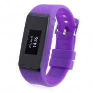 image of INCHOR WATCH WRISTFIT WITH BLUETOOTH AND HEART RATE (PURPLE) 25.00 x 2.30 x 1.10 cm