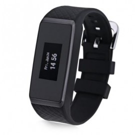image of INCHOR WATCH WRISTFIT WITH BLUETOOTH AND HEART RATE (BLACK) 25.00 x 2.30 x 1.10 cm