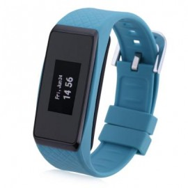 image of INCHOR WATCH WRISTFIT WITH BLUETOOTH AND HEART RATE (BLUE) 25.00 x 2.30 x 1.10 cm