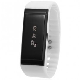 image of E7C SMART SPORT WATCH CALORIE SLEEP MONITOR CALL FITNESS TRACKER (WHITE) 23.00 x 2.20 x 1.00 cm
