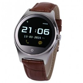 image of RWATCH R11 MTK2501 SMART WATCH (BROWN AND SILVER) 24.20 x 4.00 x 1.05 cm