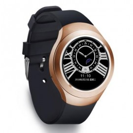 image of L6 1.22 INCH ROUND DIAL SMARTWATCH PHONE MTK2502 IPS SCREEN PEDOMETER SEDENTARY REMINDER BLUETOOTH 4.40 x 2.40 x 1.30 cm