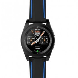 image of NO.1 G6 BLUETOOTH 4.0 HEART RATE MONITOR PSG SMART WATCH (BLACK TPU STRAP / STEEL BAND) 5.55 x 4.50 x 1.00 cm