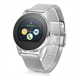image of K88H BLUETOOTH 4.0 SMART WATCH HEART RATE MONITOR (SILVER) 24.50 x 4.50 x 1.20 cm