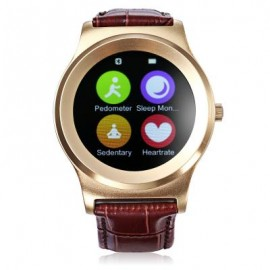 image of NEECOO V3 HEART RATE MONITOR SMART WATCH (GOLDEN) 26.20 x 4.40 x 1.40 cm