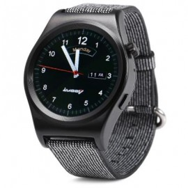 image of LUOOV LV01 SMART WATCH HEART RATE MONITOR SEDENTARY CALORIE PEDOMETER SPORT WRISTWATCH (BLACK) One Size