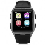 image of X2 1.54 INCH ANDROID 4.4 3G SMARTWATCH PHONE MTK6572 1.2GHZ DUAL CORE 512MB RAM 4GB ROM HEART RATE SENSOR 5.35 x 4.50 x 1.46 cm