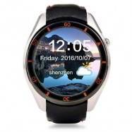 image of I3 ANDROID 5.1 1.39 INCH 3G SMARTWATCH PHONE MTK6580 1.3GHZ QUAD CORE 512MB RAM 4GB ROM WIFI PEDOMETER (SILVER) 4.60 x 4.60 x 1.55 cm