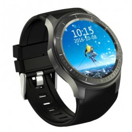 image of DM368 1.39 INCH ANDROID 5.1 3G SMARTWATCH PHONE MTK6580 1.3GHZ QUAD CORE 8GB ROM PEDOMETER (GUN METAL) 5.00 x 5.00 x 1.80 cm