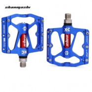 image of SHANMASHI PAIRED ALUMINIUM ALLOY ROAD MOUNTAIN BICYCLE PEDAL (BLUE)