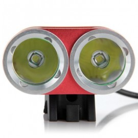 image of DARK KNIGHT K2C BICYCLE LIGHT (RED) EU PLUG