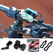 image of DARK KNIGHT K2C BICYCLE LIGHT (BLUE) US PLUG