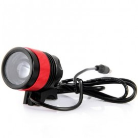 image of DARK KNIGHT K1C CREE XML-T6 LED HEADLAMP BIKE HEADLIGHT 3 MODES BICYCLE LIGHT - 1200LM 7000K (RED) EU PLUG