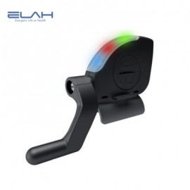image of ELAH BT003 - 2 BIKE CYCLING WIRELESS BLUETOOTH FLASHLIGHT BICYCLE COMPUTER SENSOR SPEEDOMETER (BLACK)