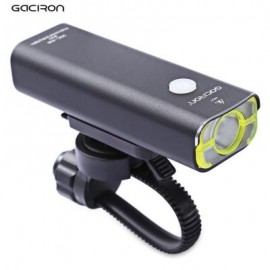 image of GACIRON USB RECHARGEABLE WATERPROOF BIKE FRONT HANDLEBAR CYCLING LED LIGHT FLASHLIGHT TORCH HEADLIGHT 10.00 x 3.40 x 3.00 cm