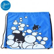 image of AIXINKE WATER RESISTANT BUGGY BAG BACKPACK HOLIDAY ACCESSORY (BLUE) BLUE FISH