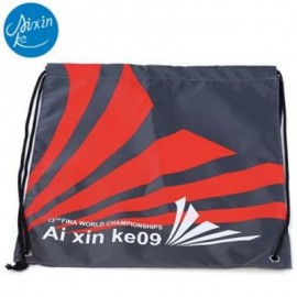 image of AIXINKE WATER RESISTANT BUGGY BAG BACKPACK HOLIDAY ACCESSORY (RED) RED STRIPE