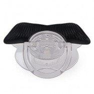 image of NOVELTY FUNNY MUSTACHE DESIGN SILICONE PACIFIER FOR BABIES (INK PAINTING) -